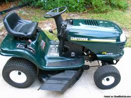 Craftsman LT1000 Lawn Mower