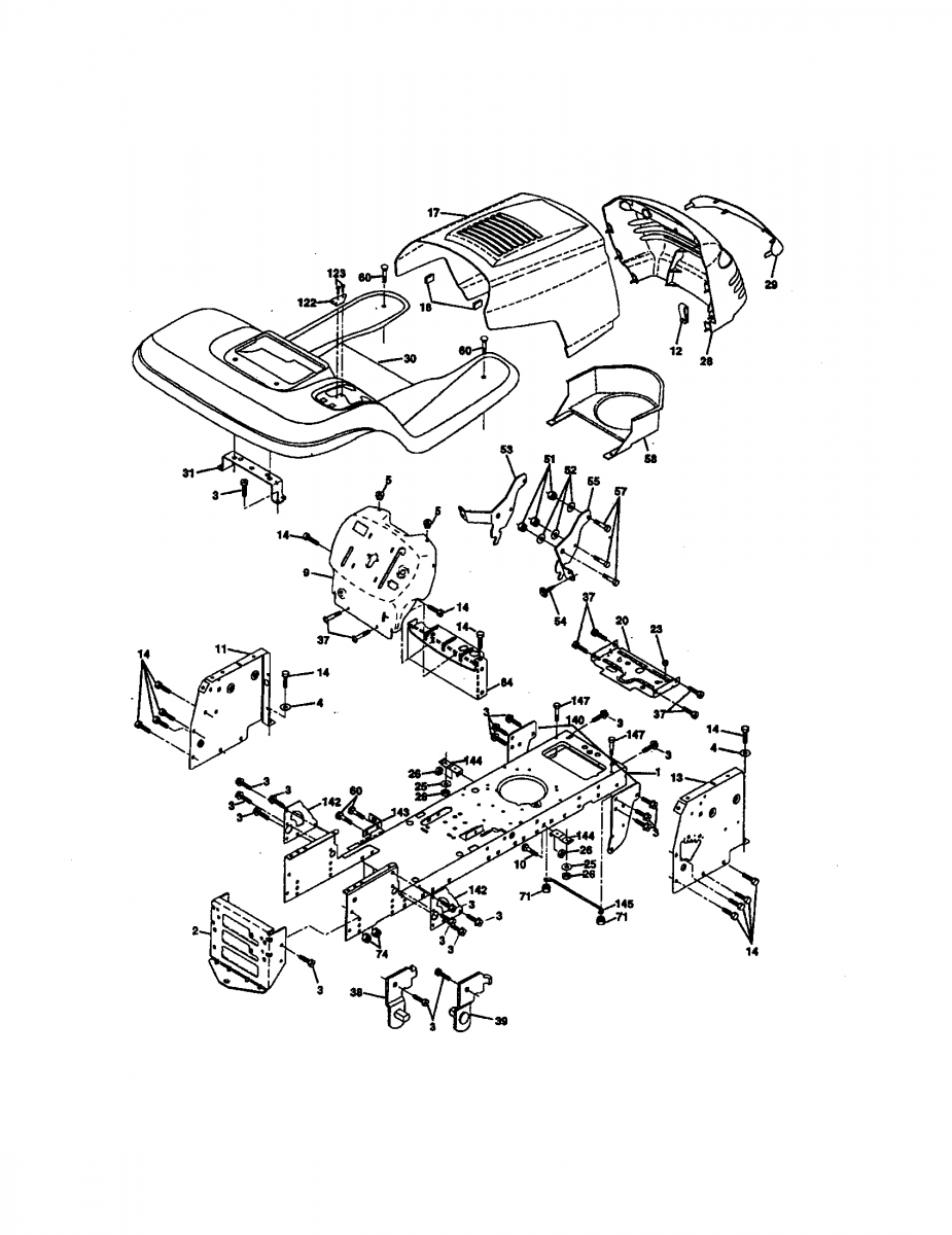 craftsman riding lawn mower parts diagram  u2013 periodic