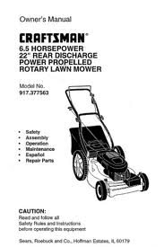 find owner s manuals for craftsman brand mowers rh craftsmanmowerparts com Sears Yard Tractors Sears Suburban 12 Garden Tractor